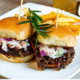 Oxtail Sliders at IV Purpose