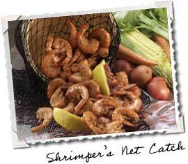 Photo of Shrimper's Net Catch