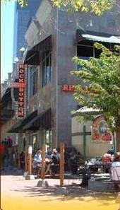 Exterior at Rock Bottom Brewery