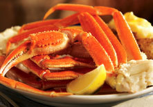 Snow Crab Legs at Red Lobster