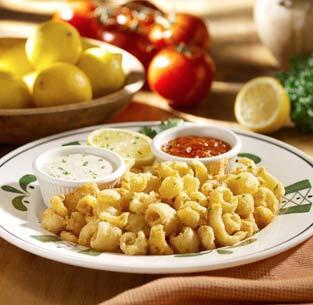 Calamari at Olive Garden