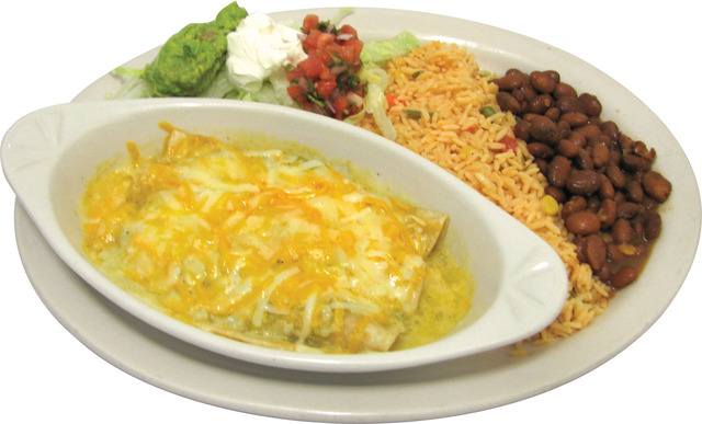 Enchiladas Verde at Taqueria El Carrizal