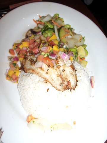 Photo of Fire Grilled Catfish with Tropical Salsa