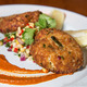 Crab Cakes at Barley