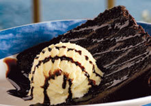 Chocolate Wave at Red Lobster