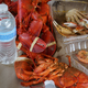 A smorgasbord of seafood - Photo at Ms. Apples Crab Shack