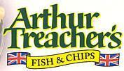 Logo at Arthur Treacher's Fish & Chips