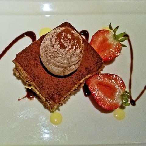 Tiramisu at Sesame Grill