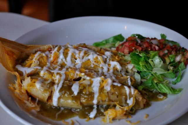 """""""Tourist"""" Tamales - Vegetarian Tamales at El Camino Tavern"""