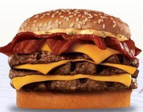 BK™ Stacker at Taxi's Hamburgers