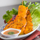 THAI CHICKEN SATAY at Top Thai Cuisine., Reseda. - THAI CHICKEN SATAY at Top Thai Cuisine