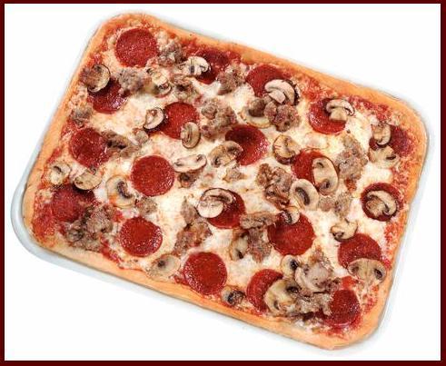 Dish at Ledo Pizza
