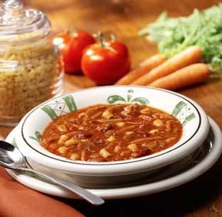 Pasta e Fagioli at Olive Garden