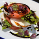 Fresh Mozzarella & Tomato Salad at Barley