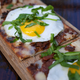 Sunday Brunch - Breakfast Flatbread at The Gin Mill