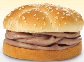 REGULAR ROAST BEEF SANDWICH: at Arby's