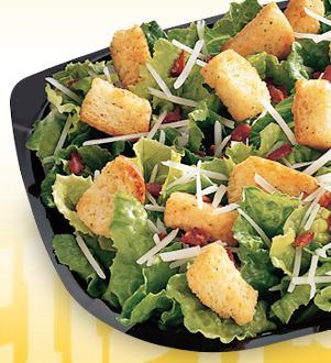 Caesar Side Salad at Wendy's