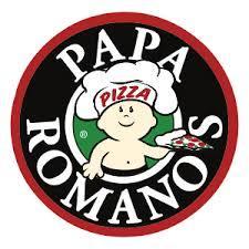 Logo at Papa Romano's