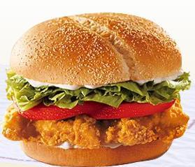 TENDERCRISP® Chicken Sandwich at Taxi's Hamburgers