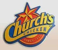 Logo at Church's Chicken