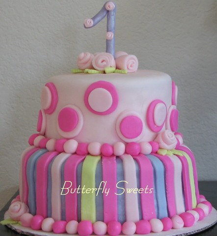 Birthday Cake at Butterfly Sweets