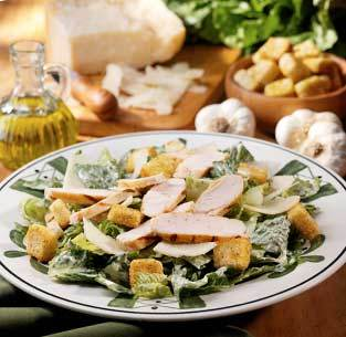 Grilled Chicken Caesar at Olive Garden