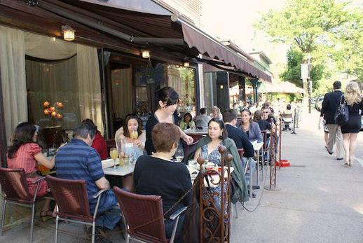 Exterior at Cafe CiBon
