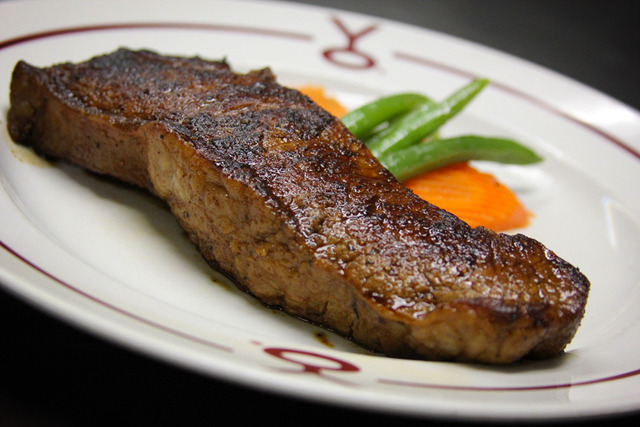 PRIME NEW YORK STRIP at Y.O. Ranch Steakhouse
