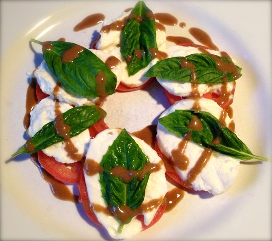 Caprese Salad at Lucia's Pizza Italian Grill
