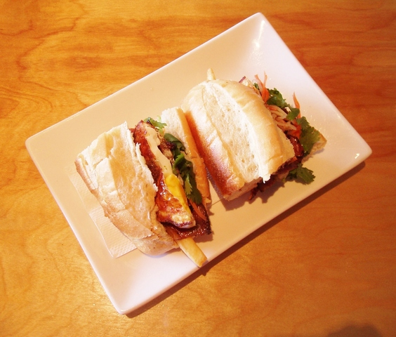 Bánh mì sandwich at Mignon Pho + Grill