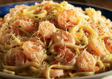 Shrimp Linguini Alfredo at Red Lobster