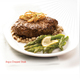 Angus Chopped Steak - Angus Chopped Steak at Luby's Cafeteria