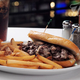 Philly Cheese Steak at Minsky's Pizza