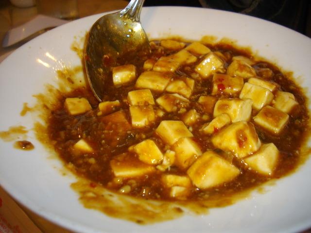 43. Szechuan Style Tofu at Happy Family Restaurant 3