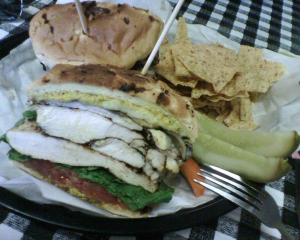 Grilled Chicken Sandwich at New York Deli