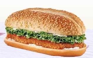 Original Chicken Sandwich at Taxi's Hamburgers