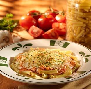 Five Cheese Ziti al Forno at Olive Garden