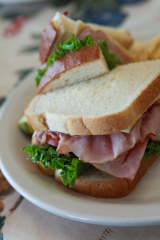 Deli Sandwich at Peach's Restaurant