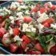 Tasty Greek Salad - Greek Salad at Bayside Cafe & Grill
