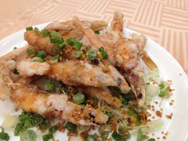 Salt and pepper shrimp at 888 Seafood Restaurant