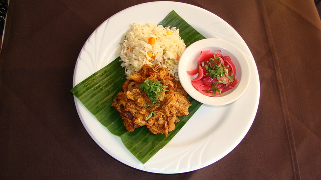 Cochinita Pibil at El Mestizo Restaurant