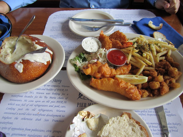 Fishermans Platter at Pier Market