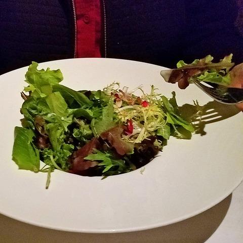 Dinner salad at Sesame Grill