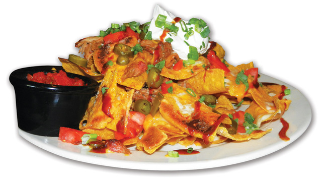 Nachos at Sticky Fingers Smokehouse