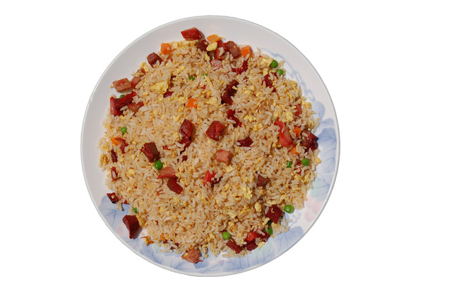 B.B.Q. Pork Fried Rice at Shanghai Restaurant
