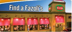 Exterior at Fazoli's