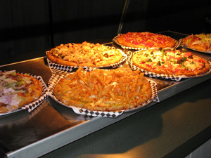 Pizza Buffet - Pizza Buffet at Weeksie's Pizza