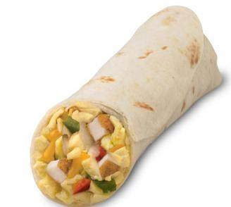 Chicken Breakfast Burrito at Chick-fil-A