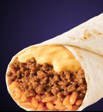 CHEESY DOUBLE BEEF BURRITO at Taco Bell