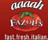 Logo at Fazoli's